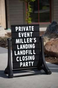 Miller's Landing Landfill Closing Party - 4